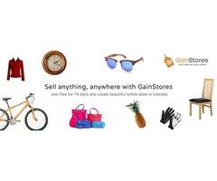 E-commerce website builder - Gainstores