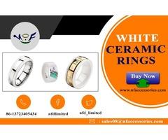 Black Ceramic Ring Vs Tungsten