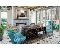 Stay Warm at Plaza Club! Fireplace Included w/ Home