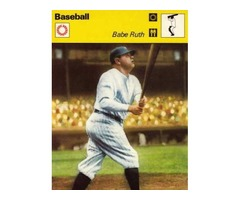 Babe Ruth 1977 Sportcaster The Greatest Baseball Player of All Time