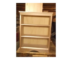 Recently constructed beautiful bookcase