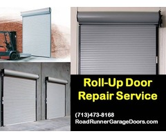 Starting only $25.95 for Roll up Garage Door Repair Service in Houston, TX