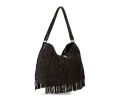 Calvin Klein Suede Hobo Black & Dust Bag