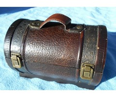 Rustic Style Chest Buckled Trunk