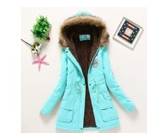 Get Very Stylish Women Winter Parka Coat