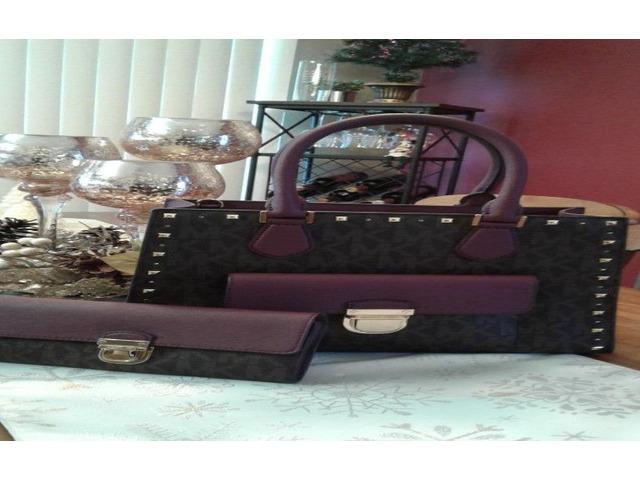 7425c6059484 Michael Kors Women's Bridgette Medium Tote Leather Handbag - Fashion ...