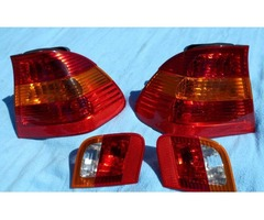 BMW E46 Inner sedan tail light set