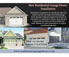 Top Residential Garage door Installation Houston TX