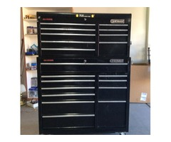 Cobalt 19 Drawer rollaway with tools