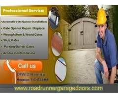 Get only starting 25.95 Automatic Gate Repair Frisco, TX
