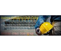 Construction Company Miami Florida