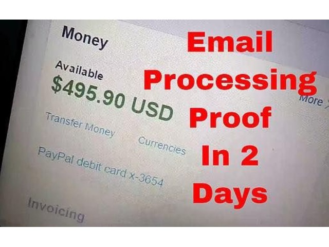 Easy Work At Home Get Paid Cash Daily Online Jobs Employment - Work from home invoice processing