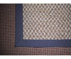 CARPET SERGING OR WIDE BINDING QUALITY CRAFTSMANSHIP THAT YOU CAN SEE