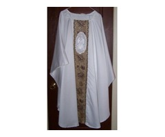 OLG Chasuble Vestment and Stole