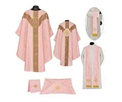 Rose Gothic Vestment & Mass Set