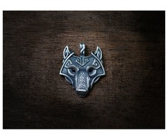 Hurry Up!! Mega Sale on Wolf head pendant