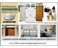 Garage Door Installation Service Flower Mound, TX (972) 402-5550