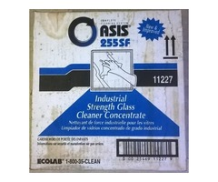 ECOLAB OASIS INDUSTRIAL STRENGTH GLASS CLEANER