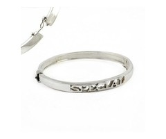Buy Sterling Silver Handmade Bangles Online