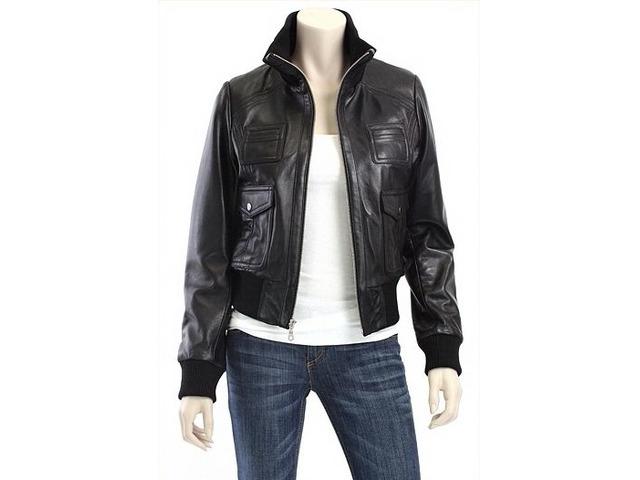 Black Leather Bomber Jacket Women Clothing Mansfield Texas