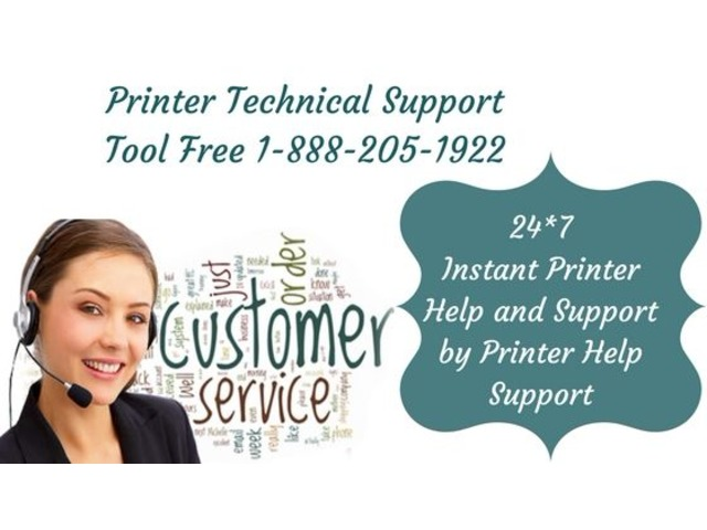 Printer Technical Support Number 1-888-205-1922 - Printer Help Support | free-classifieds-usa.com