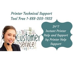 Printer Technical Support Number 1-888-205-1922 - Printer Help Support