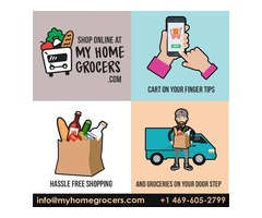 Best Indian Grocery Store In Dallas,TX - MyHomeGrocers.com