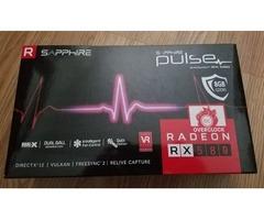 Sapphire Radeon PULSE RX 580 8GB 8G GDDR5
