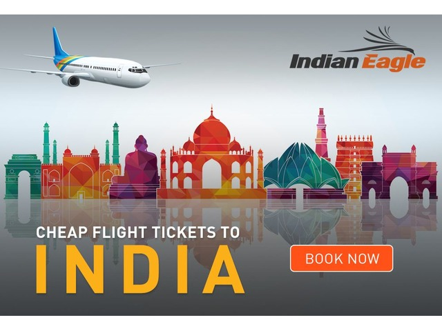 Book Cheapest flights to India   Indian Eagle - Tickets - Austin - Texas -  announcement-86419