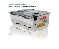 Prius battery replacement cost find here with 2nd life battery