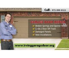 Best garage door installation service company Irving