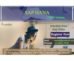 Best SAP HANA Online Training with Certification| Acutesoft