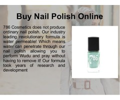Fashionable Halal Nail Polish