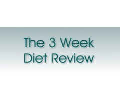 The 3 Week Diet Review - Insane Results in Just 21 Days! The 3 Week Diet Review