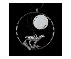 Get Online Wolf Necklace | Boutique Delight- LIMITED OFFER