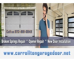 Trusted Garage Door Installation and Service Company Carrollton, TX