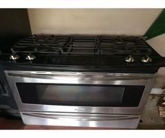 Kenmore Elite 42763 4.6 cu. ft. Slide-In dual gas stove