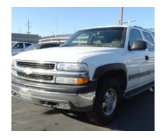 2003 Chevrolet Suburban White