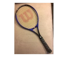 Tennis Racket* Wilson Enforcer ( With Soft Shock Grip )
