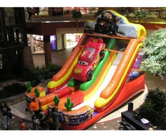 Inflatable Car's Slide for Rent! B Days, Schools, Carnivals, Fundraisers, Events