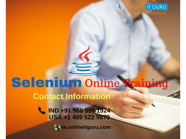 selenium online training Bangalore | selenium online course India | free-classifieds-usa.com