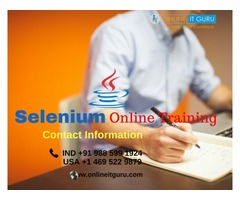 selenium online training Bangalore | selenium online course India