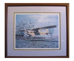 AVIATION Art -- Piper J-3 Cub by Robyn Clark - PERFECT