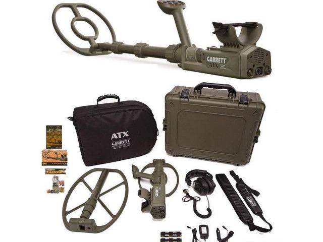 New! Garrett ATX DeepSeeker Metal Detector Package | free-classifieds-usa.com