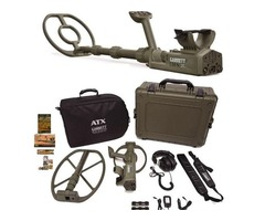 New! Garrett ATX DeepSeeker Metal Detector Package