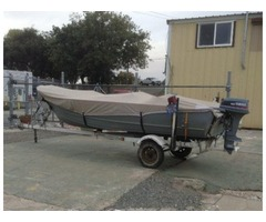 15 FT Gregor aluminum Fishing boat