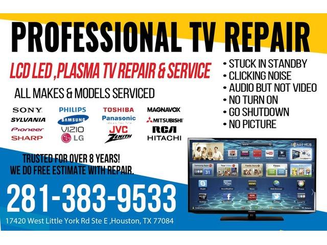 We repair damaged TV (free diagnostics) | free-classifieds-usa.com