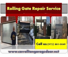 Automatic Gate Repair Company Carrollton | Call Now! (972) 881-0049