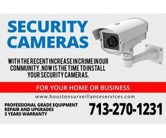 Security cameras for your home or business!