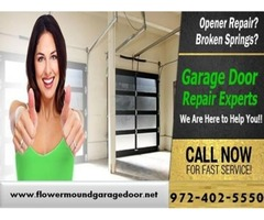 Call now for Garage Door Opener Repair Service | Flower Mound, TX
